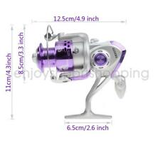 8Ball Bearing High Speed Spining Fishing Reel Gear Ratio 5:2:1 FA5000/4000/3000