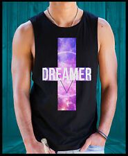 Mens Womens DREAMER Funky Trill high Fresh Dope Swag Hipster Singlet T Shirt