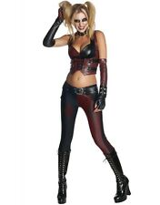 Batman New Women's Batman Arkham City Harley Quinn Adult Halloween Party Costume
