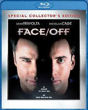 Face/Off     John Travolta  Nicholas Cage Previously Viewed BluRay Free Shipping