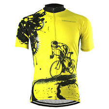Popular Men Cycling Jersey Bike Jersey Cycling Wear Bicycle Shirt Team Clothing