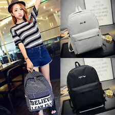 Women Backpack Cute School Campus Shoulder Bag Rucksack Canvas Travel Bags