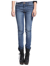 Womens Pencil Denim Slim Skinny Jeans Hipster Jeggings Stretchy Pants Trouser