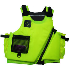 Best Design Adult Buoyancy Aid Sailing Kayak PFD Life Jackets Apple Green/ Coral