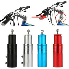 Alloy Handlebar Fork Stem Riser Bicycle Bike Extender Head Up Adaptor NEW