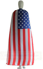 Adult Flag capes - Australia, Canada, United Kingdom, United States flag costume