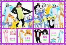 Unisex Adult Onesie Sleepwear Costume Hot New Pajamas Kigurumi Animal Cosplay