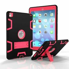 3in1 Silicone Hybrid Shockproof Hard Protective Cover Case For iPad iPad 2/3/4