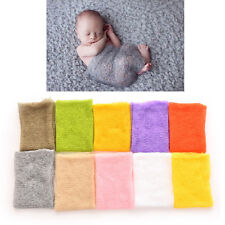 Baby Photography Props Mohair Wrap Boy and Girl Knitted Crochet Photo Prop FJ