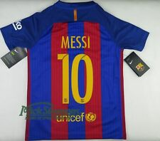 NEW FC Barcelona 2016/17 Kid's Messi #10 Home Football Jersey by Nike