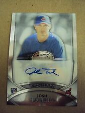 2010 Josh Tomlin Rookie Autograph Card Cleveland Indians Bowman Sterling