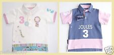 BNWT Joules Clothing Girls Age 6 Boys Age 4 Equestrian Horse Polo Shirt Top