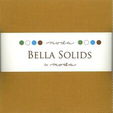Bella Solids Hay Charm Pack by Moda, 42 5-inch Precut Fabric Squares 9900PP-104