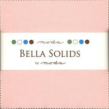 Bella Solids Pink Charm Pack by Moda, 42 5-inch Precut Fabric Squares 9900PP-145