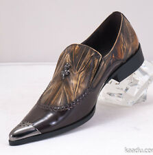 XL163 Clevis Fashion Dress Shoe Loafer Taupe
