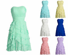 New Stock Short Party Prom Cocktail Club Homecoming Ball Gown Bridesmaid Dresses