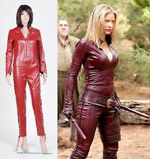 Legend of the Seeker Cara Pleather Cosplay Costume Set Halloween Party