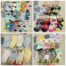 4pairs/lot Cartoon Baby Kids Toddler Clothes boys Girls Non-slip Socks 1-3YRS