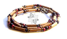 Hazelwood SET Therapeutic Brown & Red Wood (Necklace-Bracelet or Anklet) #