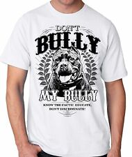 Don't Bully My Bully Pit Bull Advocate Men's t- shirt for Pitbull lovers sm - 5x