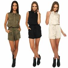 Women Casual Clubwear Summer Playsuit Bodycon Party Jumpsuit Romper Trousers