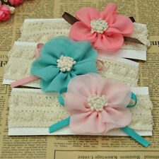 1PCS Children Baby girls Flower headband Soft Elastic kids Hair Accessories Band
