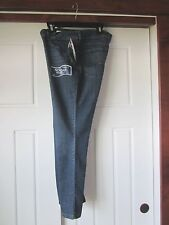 LEE Curvy Fit 16SP No Gap Waistband Labyrinth Bootcut Med Wash Blue JEANS NWT