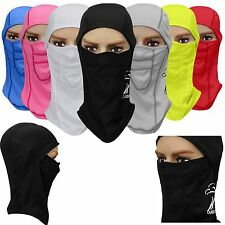 Motorcycle Cycling Ski Winter Neck Protect Outdoor Balaclava Full Face Mask #GY