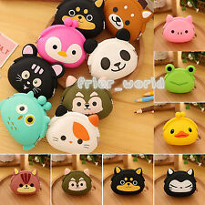 Wallet Kawaii Womens' Girls' Cartoon Animal Silicone Jelly Key Coin Pouch Purse