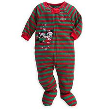 Disney Store Mickey & Minnie Mouse Christmas Blanket Sleeper for Baby