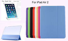Screen Protector/Ultra Slim Smart Cover Matte case for Apple New iPad Air 2