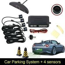 New 4 Parking Sensors LED Display Car Auto Backup Reverse Radar System Alarm Kit