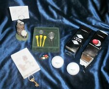 Lady Golf Lovers Lot of Ten (10) Golf Bag Accessories and More