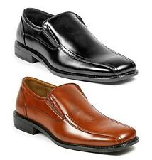 Delli Aldo Mens Slip on Leather Lined Dress Loafers Classic Slip On Shoes 18528