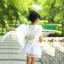 New Angel Fairy Feather Wings Wand Halo Adults Kids Fancy Dress Costume 3PCS/set