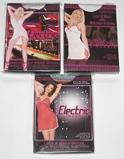 BNWT Electric Lingerie Set Lace & Mesh Dress G-String Sexy Outfit Multi-Listing