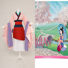 Mulan Chinese Classical Dress Cosplay Costume Halloween Party