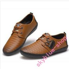 Mens New Plaids Classic Oxford Lace Up Casual Dress Leather Lining Shoes US Size