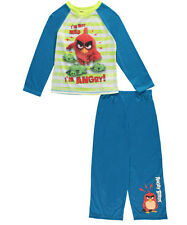 "Angry Birds Little Boys' ""I'm Not Mad"" 2-Piece Pajamas (Sizes 4 - 7)"