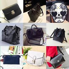 Women Lady Mini PU Leather Crossbody Single Shoulder Bags Messenger Bag OEE