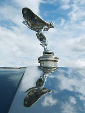 Spirit of Ecstasy ~ Emily, Silver Lady or Flying Lady, Rolls-Royce Poster Print