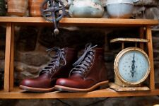 NWT Chippewa Service Boot - Cordovan made in USA mens boots hand crafted