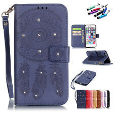 Leather Flip Card Slot Stand Wallet Magnetic Case Cover For iPhone 5s 6 plus NEW