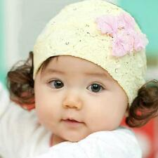 Toddler Girls Kids Baby Flower Lace Big Bow Headband Hair Band Gift HairBand