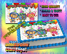 #1 Team Umizoomi Birthday cake topper Edible picture image sugar paper frosting