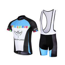 New Mens Cycling Clothing Outdoor Team Bike Jersey Bib/ shorts set Bicycle Wear