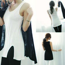 T-Shirt Cami Sleeveless Sexy  Vest Camisole Tank Tops Bottoming