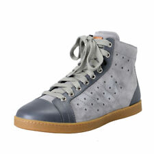 Bally Switzerland Men's Gray Suede Fashion Sneakers Shoes Sz 6 6.5 7 7.5 8 8.5 9
