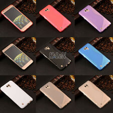 Rubber Soft S Style Gel TPU Silicone Case Cover Skin Shell For LG X cam K580