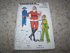 Vintage BUTTERICK Sewing Pattern 5103 CHILDS & ADULTS SANTA CHEF COSTUME UNCUT